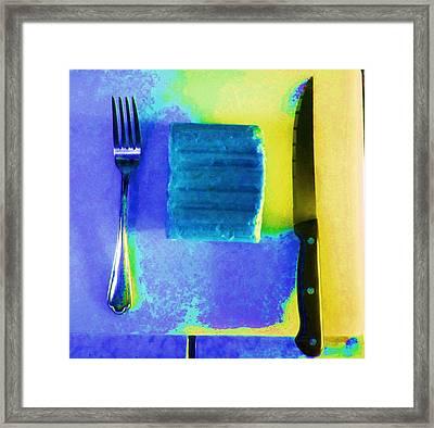 Food Item Framed Print by Dan Twyman