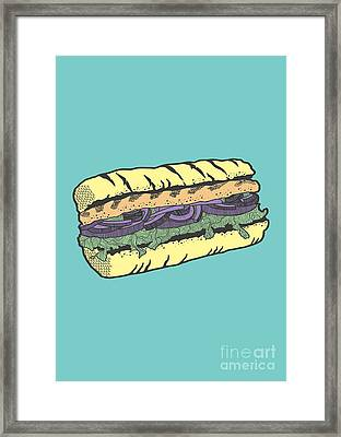 Food Masquerade Framed Print by Freshinkstain