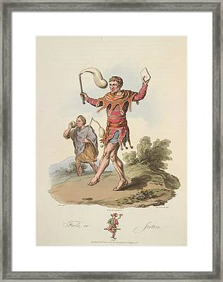 Fools Framed Print by British Library