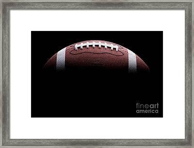 Football Painting Framed Print by Jon Neidert