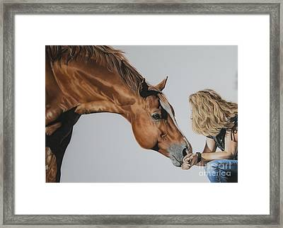 For Amy Framed Print by Joni Beinborn