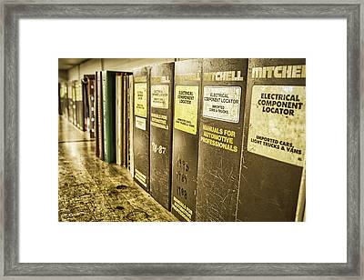 For Automotive Professionals Framed Print by Caitlyn  Grasso