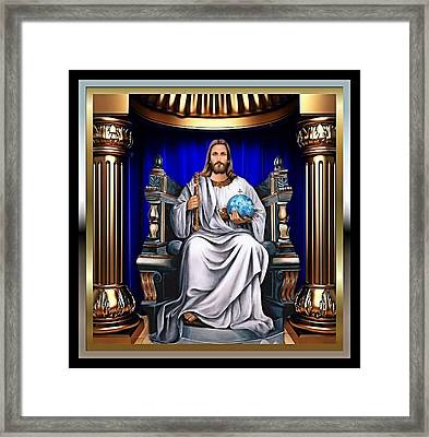 For His Majesty 2 Framed Print by Karen Showell