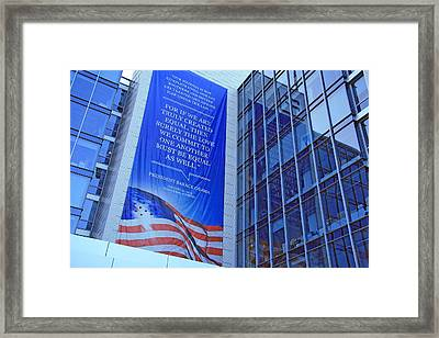 For If We Are Truly Created Equal Framed Print by Cora Wandel