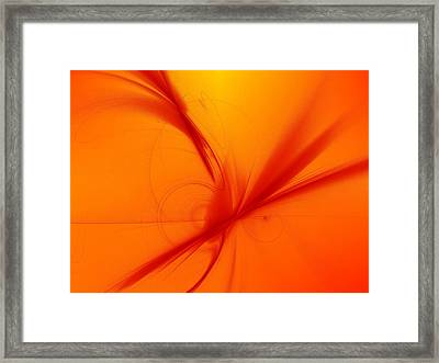 For Love Or Money Framed Print by Jeff Iverson