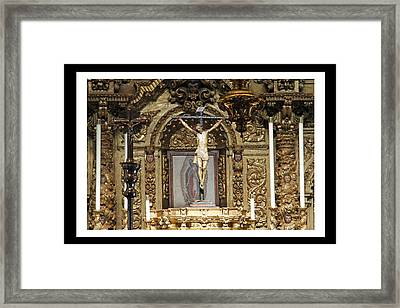For Our Sins Framed Print by Shoal Hollingsworth