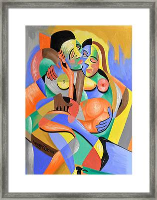 For Play Framed Print by Anthony Falbo