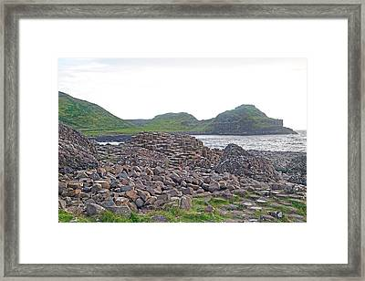 For The Cause -- Giant's Causeway -- Ireland Framed Print by Betsy C Knapp