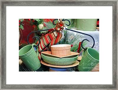 For The Kitchen Framed Print by Kathleen Struckle