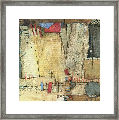 For The Love If Stacking  Framed Print by Laura  Lein-Svencner
