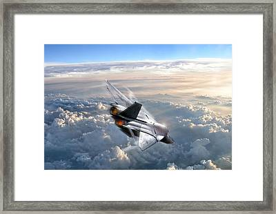 For Those About To Rock Framed Print by Peter Chilelli