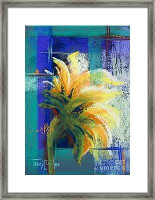 For Those Who Wait Framed Print by Tracy L Teeter