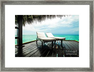 For You And I Framed Print by Hannes Cmarits
