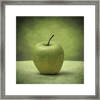 Forbidden Fruit Framed Print by Taylan Apukovska