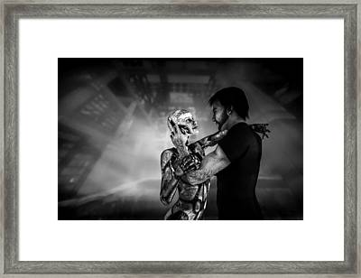 Forbidden Love Vanishing Memory Machine 2 Framed Print by Bob Orsillo