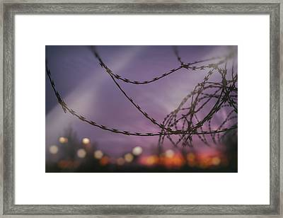 Forbidden Framed Print by TouTouke A Y