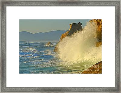 Force Of Nature Framed Print by Nick  Boren