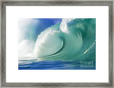 Force Of Nature Framed Print by Paul Topp