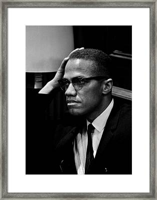 Forceful Resistance Framed Print by Benjamin Yeager