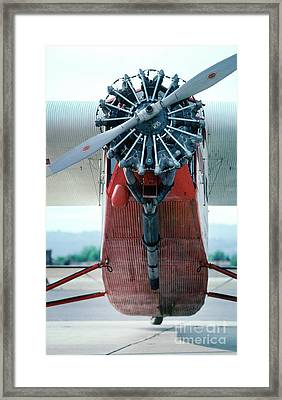 Ford 5-at-b Trimotor  Framed Print by Wernher Krutein