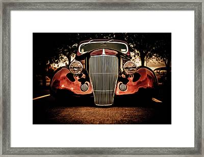Ford Coupe Hotrod Framed Print by motography aka Phil Clark