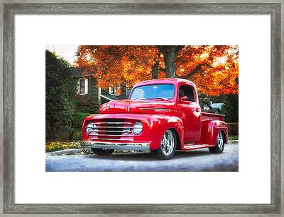Ford F-1  Framed Print by Darek Szupina Photographer