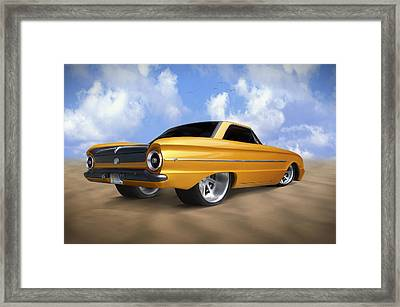 Ford Falcon Framed Print by Mike McGlothlen