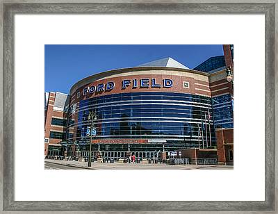 Ford Field  Framed Print by John McGraw