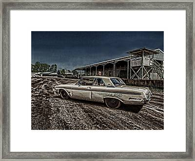 Ford Galaxie 500 4 Framed Print by Thomas Young
