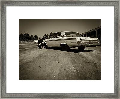 Ford Galaxie 500 5 Framed Print by Thomas Young