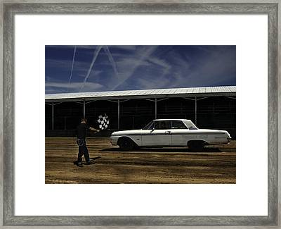 Ford Galaxie 500 6 Framed Print by Thomas Young