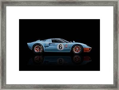 Ford Gt 40 Framed Print by Douglas Pittman