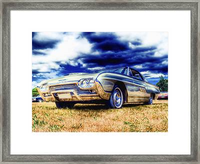 Ford Thunderbird Hdr Framed Print by Phil 'motography' Clark