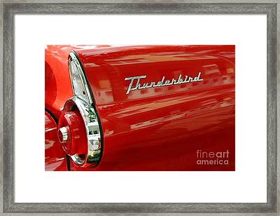 T-bird 1 Framed Print by Rod McLean