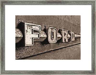 Ford Tough Framed Print by JC Findley