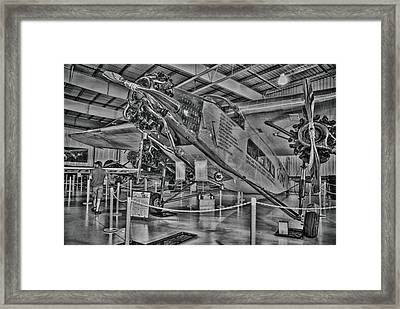 Ford Tri-motor Framed Print by Todd and candice Dailey