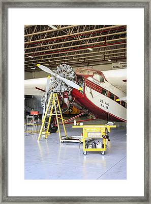 Ford Trimotor Framed Print by Chris Smith
