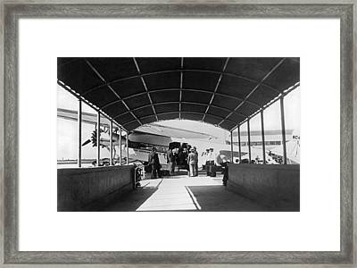 Ford Trimotor To Havana Framed Print by Underwood Archives