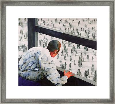 Foreign Correspondent Framed Print by Graham Dean