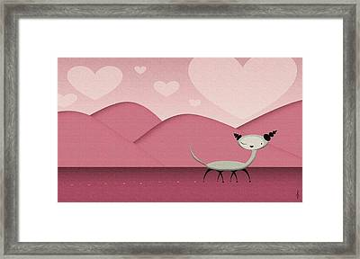 Foreign Love Framed Print by Kate Paulos