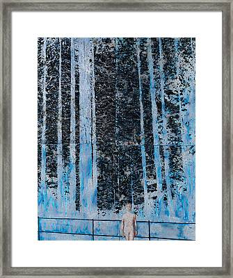 Forest Four Hours Of Daylight Framed Print by Graham Dean