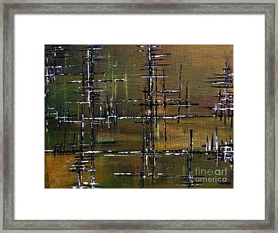 Forest Framed Print by Michael Grubb