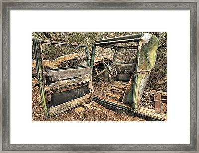 Forest Recycing Framed Print by Adam Jewell