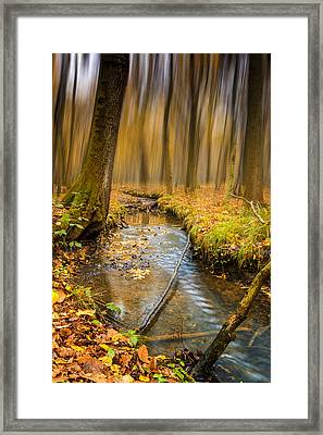 Forever Autumn Framed Print by Ian Hufton