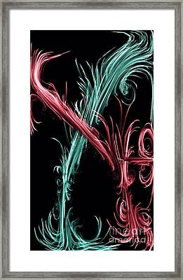 Forever Entwined Framed Print by Tala Art