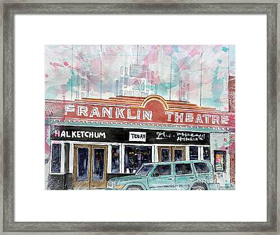 Forever Franklin Framed Print by Tim Ross