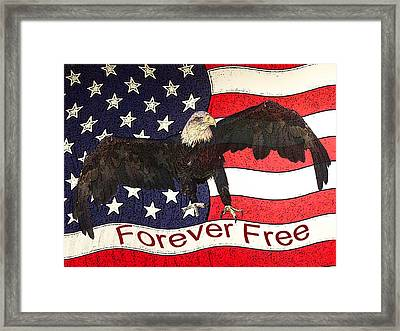 Forever Free Framed Print by Ernie Echols