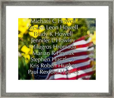 Forever Remembered Framed Print by Tom Gari Gallery-Three-Photography