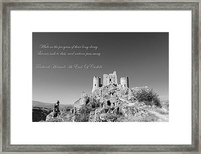 Forgotten Ages  Framed Print by Andrea Mazzocchetti