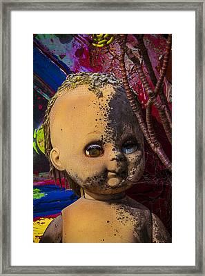 Forgotten Baby Doll Framed Print by Garry Gay